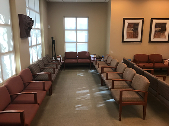 Ironwood Dermatology — additional space in waiting room